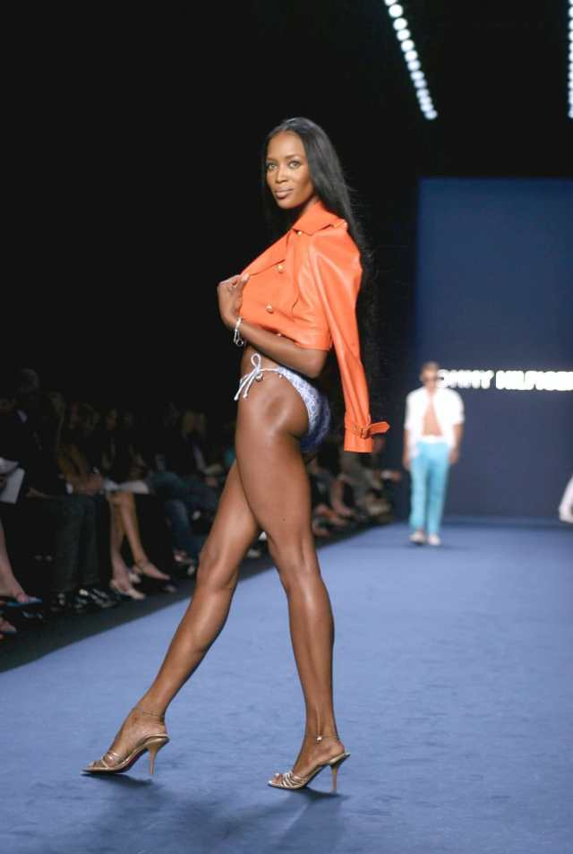 Naomi Campbell on Ramp