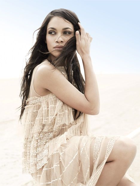 Rosario Dawson Hot Photoshoot