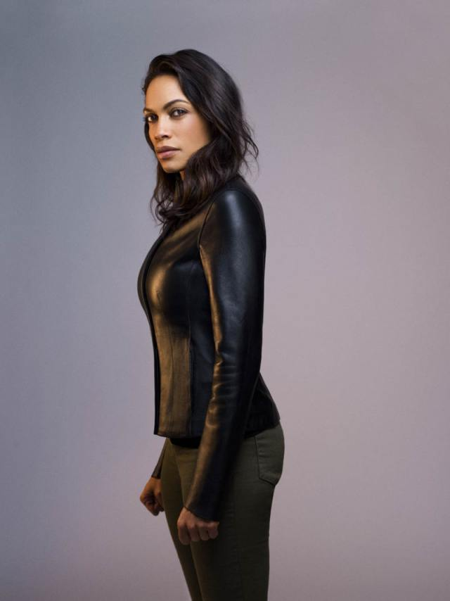 Rosario Dawson Hot in Black