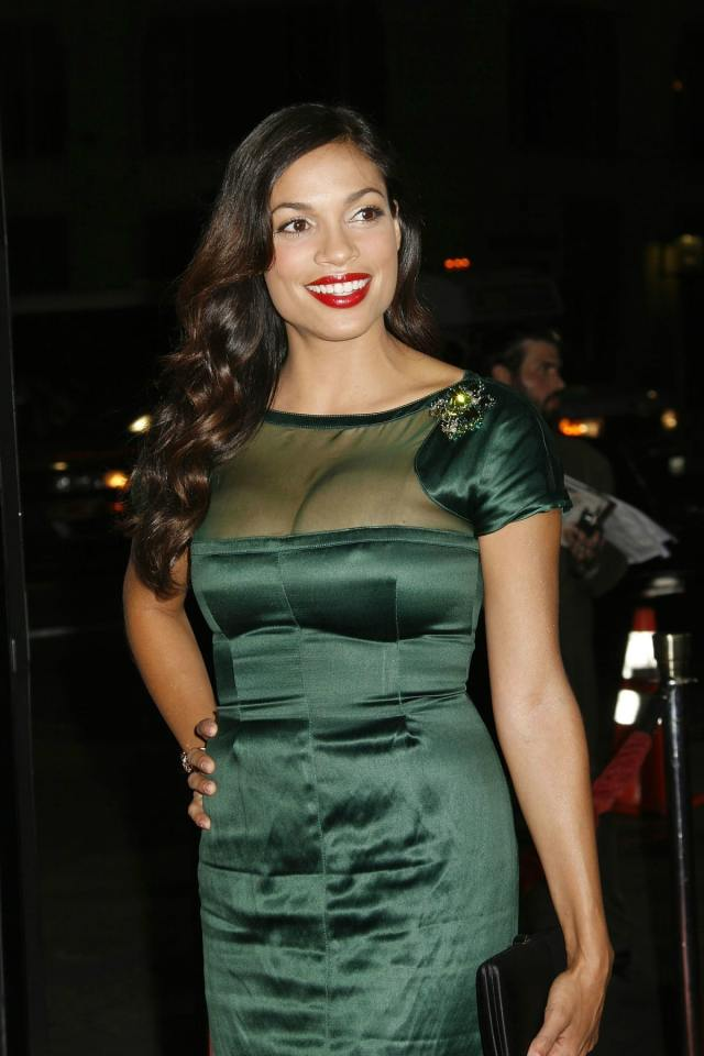 Rosario-Dawson-Red Lips