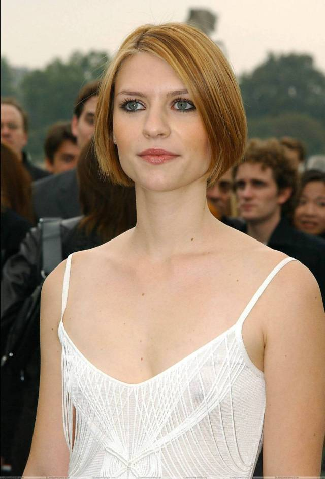 claire danes sexy cleavage