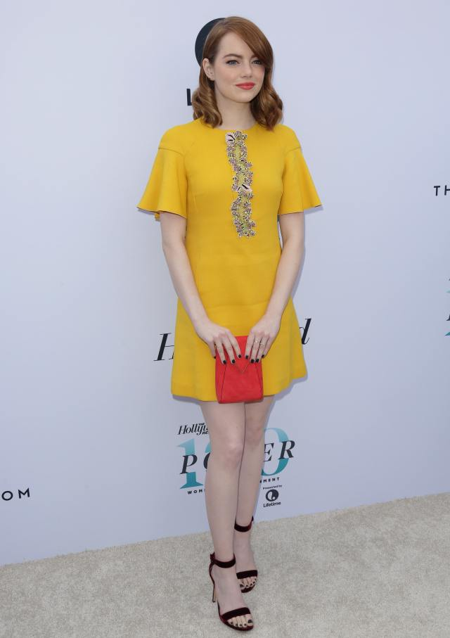emma stone stunning feet pictures