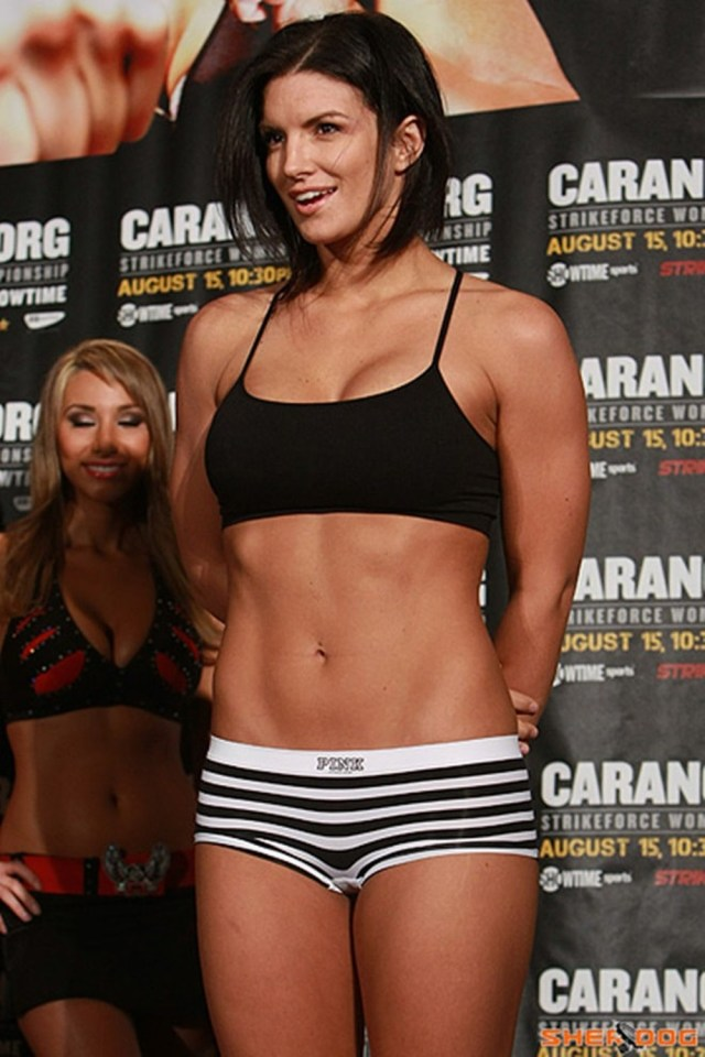 gina carano thigh pictures
