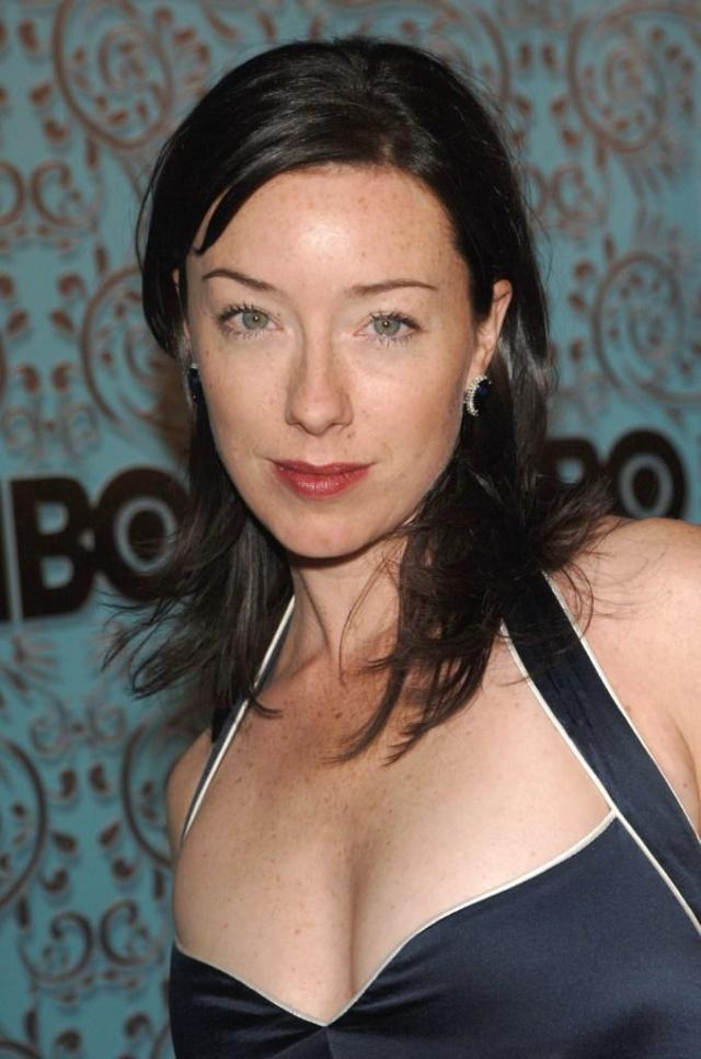 molly parker cleavage