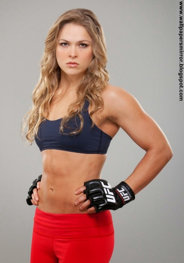 ronda rousey angry face