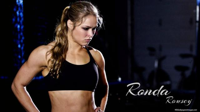 ronda rousey angry