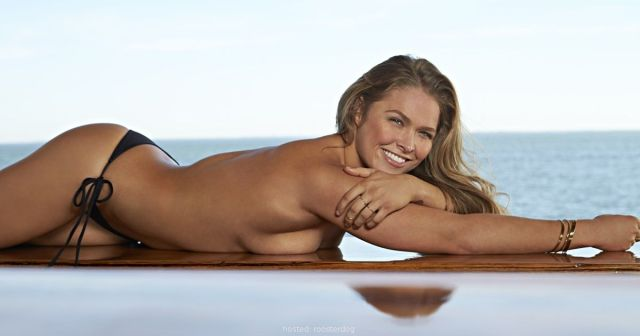 ronda rousey topless pictures