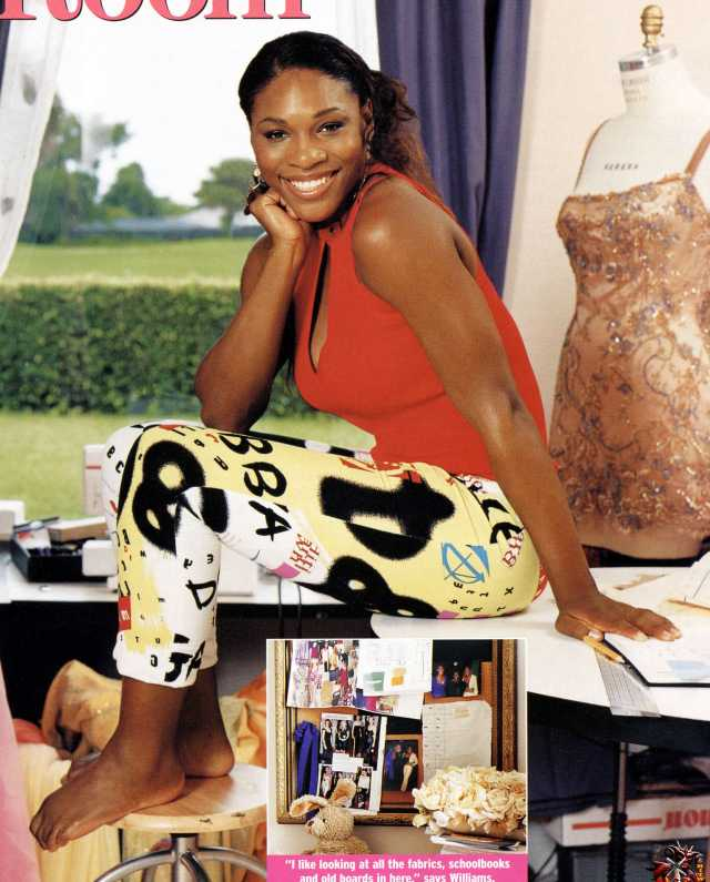 serena williams stunning bare feet pictures