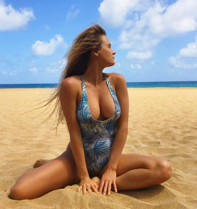 Alana Blanchard awesome cleavages