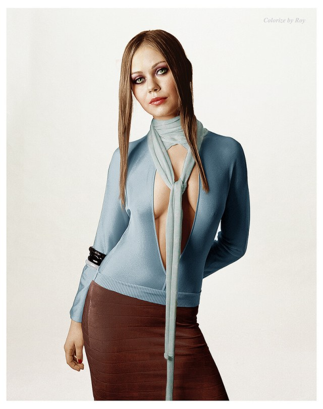 Alexis Dziena awesome look