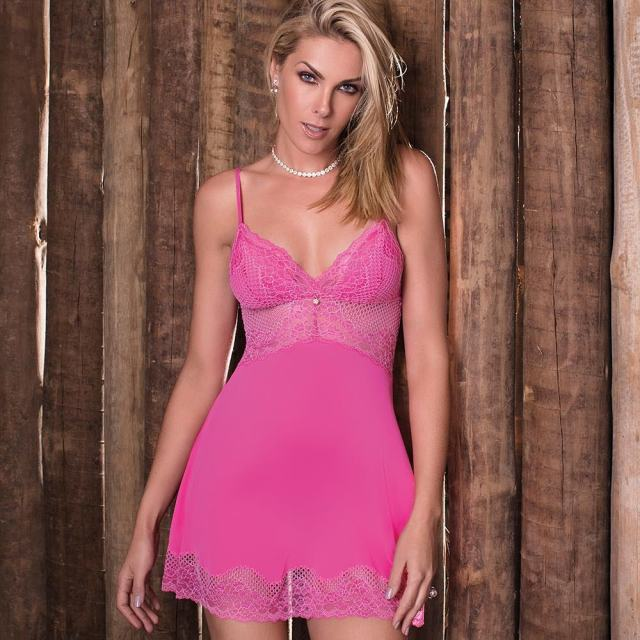 Ana Hickmann Hot in Pink Dress
