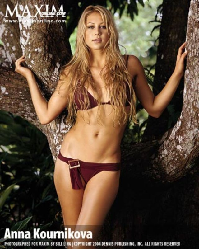 Anna Kournikova sexy bikini photo