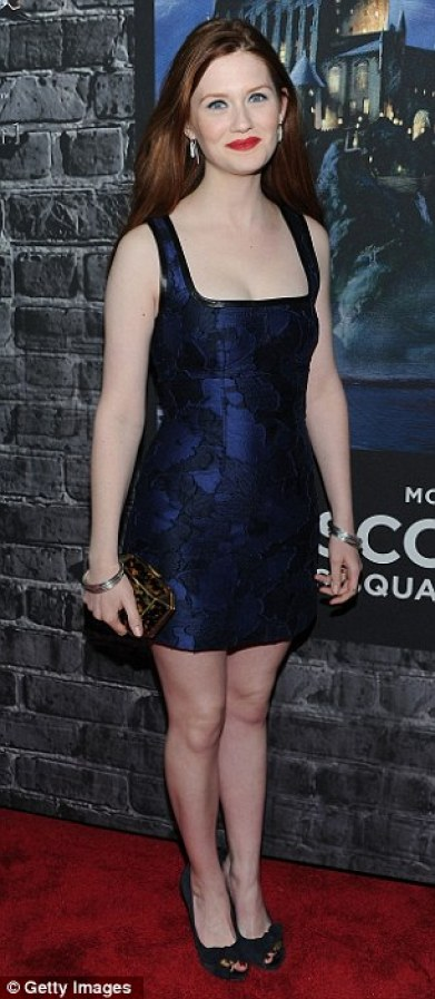 Bonnie Wright sexy and hot