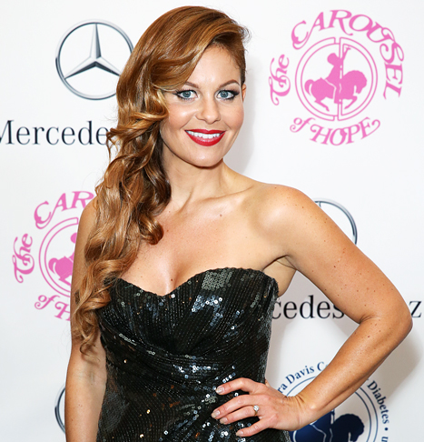 Candace Cameron-Bure Red Lips