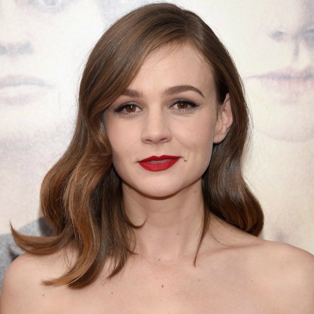Carey Mulligan Red Lips