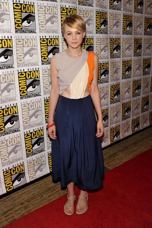 Carey Mulligan on Comic Con