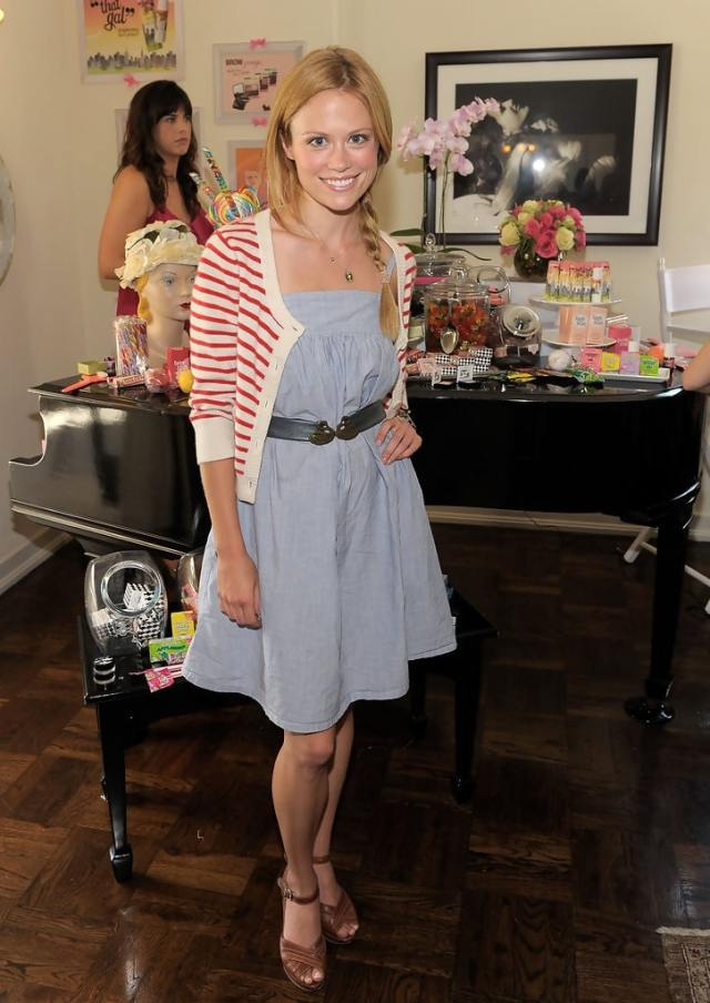 Claire Coffee awesome look