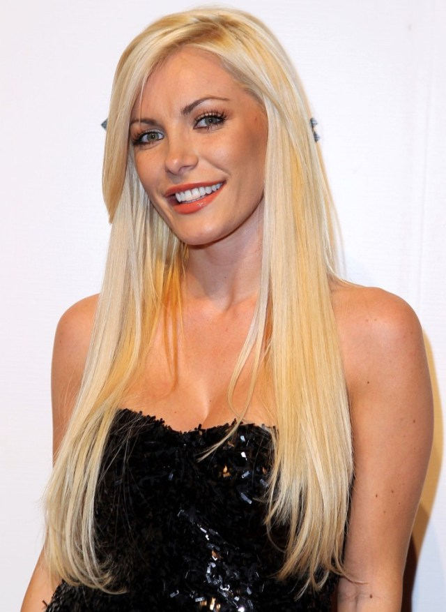 Crystal Harris on Party Dress