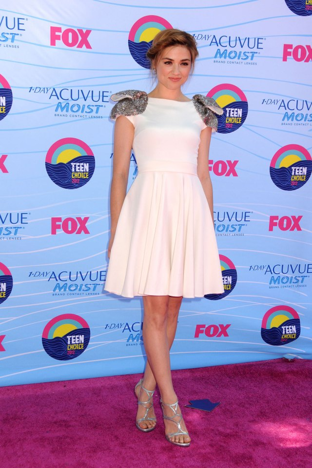 CRYSTAL REED at Teen Choice Awards