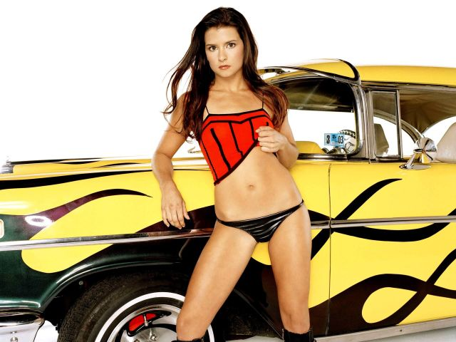 Danica Patrick thigh sexy pictures
