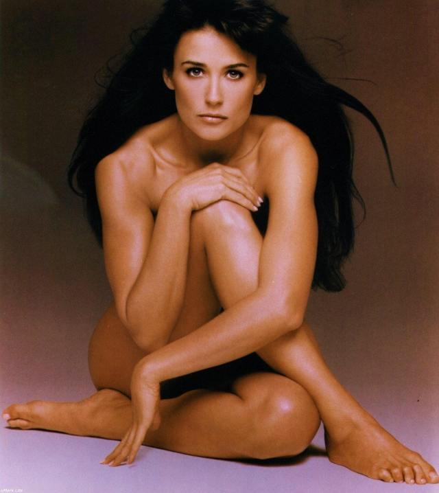 Demi-Moore-sexy naked