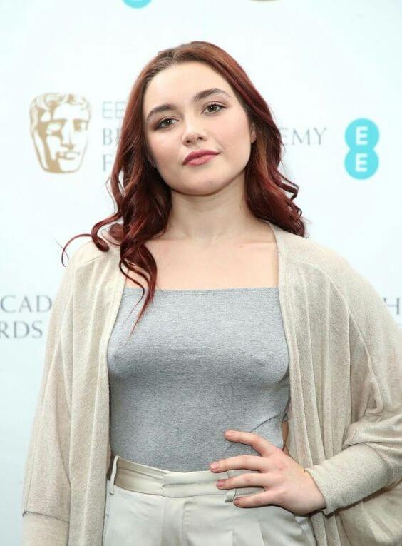 Florence Pugh hot busty pic