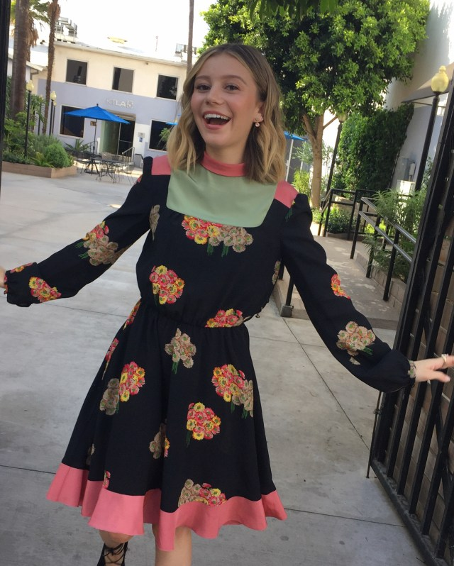 Genevieve Hannelius Smile Photo