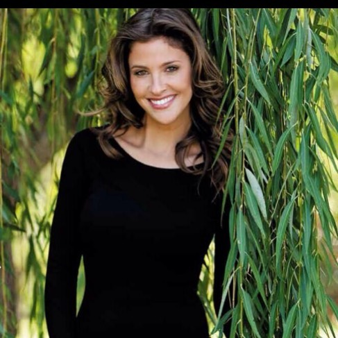 Jill Wagner Hot in Black Dress