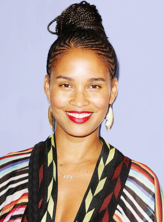 Joy Bryant Red Lips