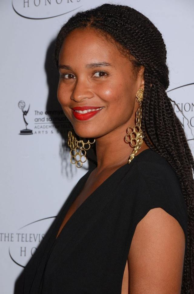 Joy Bryant Sexy Hairstyle