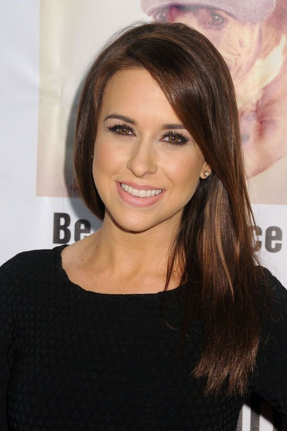 Lacey Chabert Hot in Black