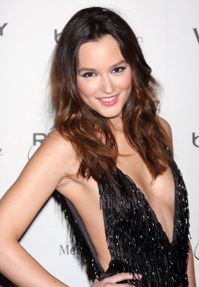 Leighton Meester cleavage photo