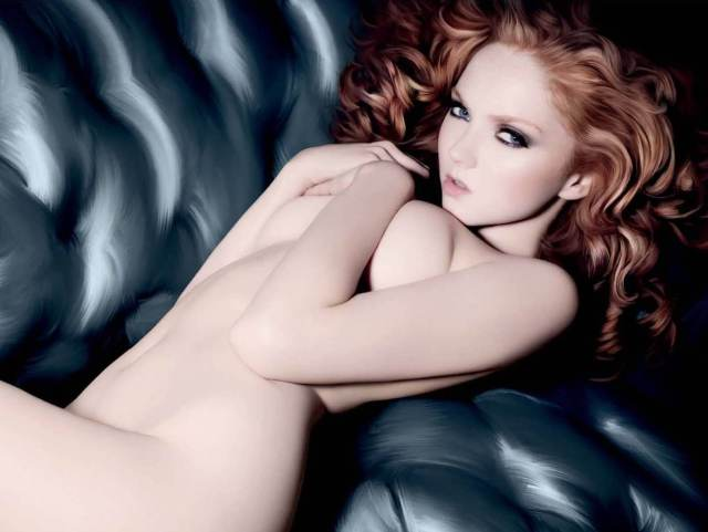 Lily Cole nude pic (2)