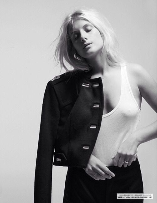Mélanie Laurent hot black and white