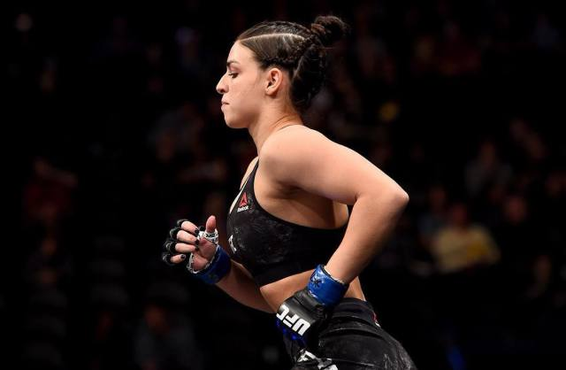 Mackenzie Dern Ready for Boxing on Stage