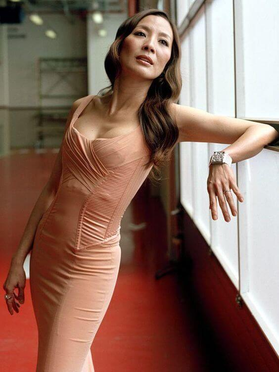 Michelle Yeoh awesome cleavages