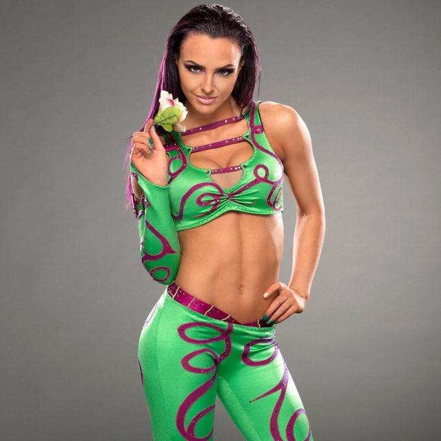 Peyton Royce Hot in Green Dress