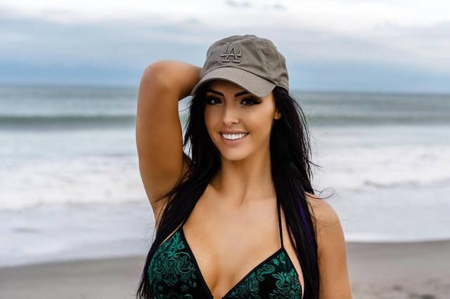 Peyton Royce on Sexy on Bikini