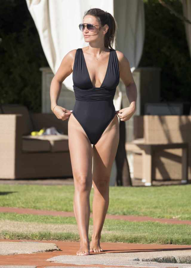 Sam Faiers swimsuit sexy