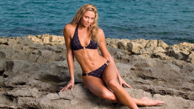 Stacey Keibler sexy photo