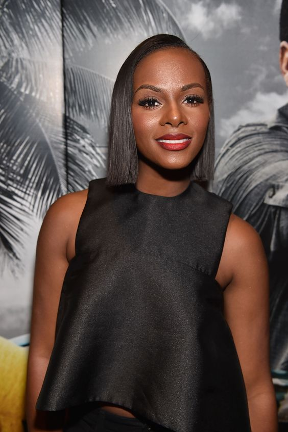 Tika Sumpter Hot in Black Dress