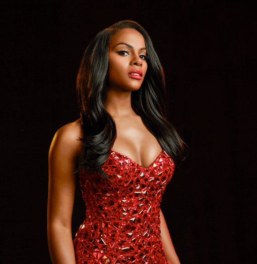Tika Sumpter Red Lips