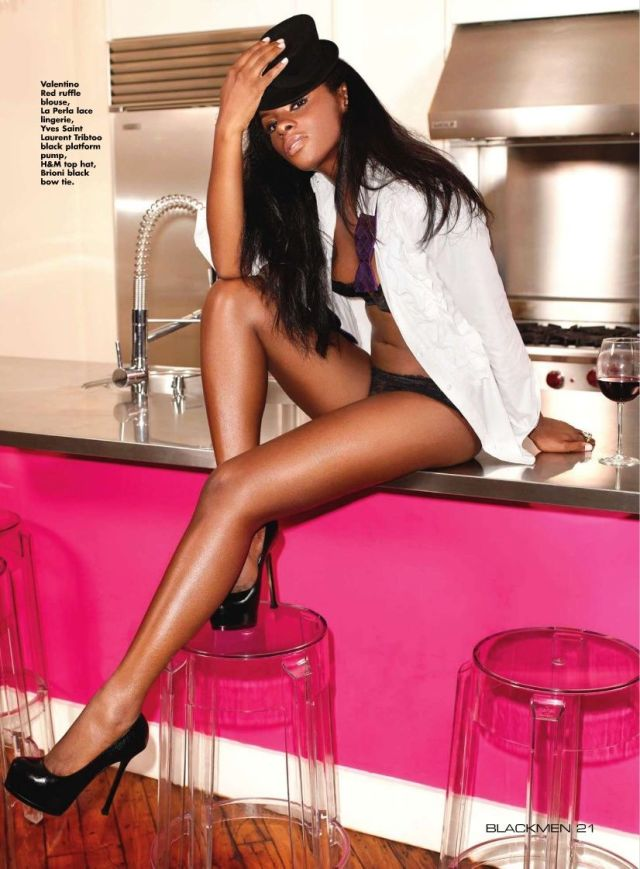 Tika Sumpter Sexy Feet on High Heels