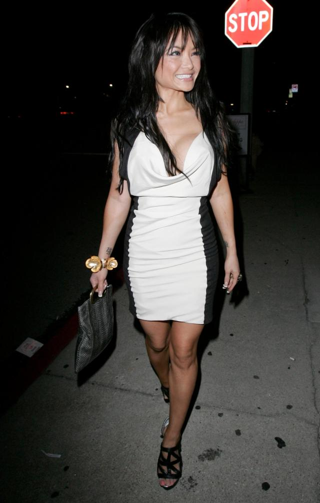 Tila Tequila hot cleavage