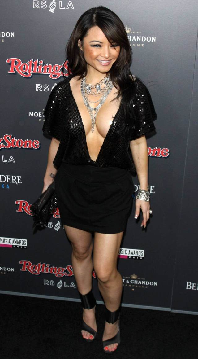 Tila Tequila sexy cleavage pic
