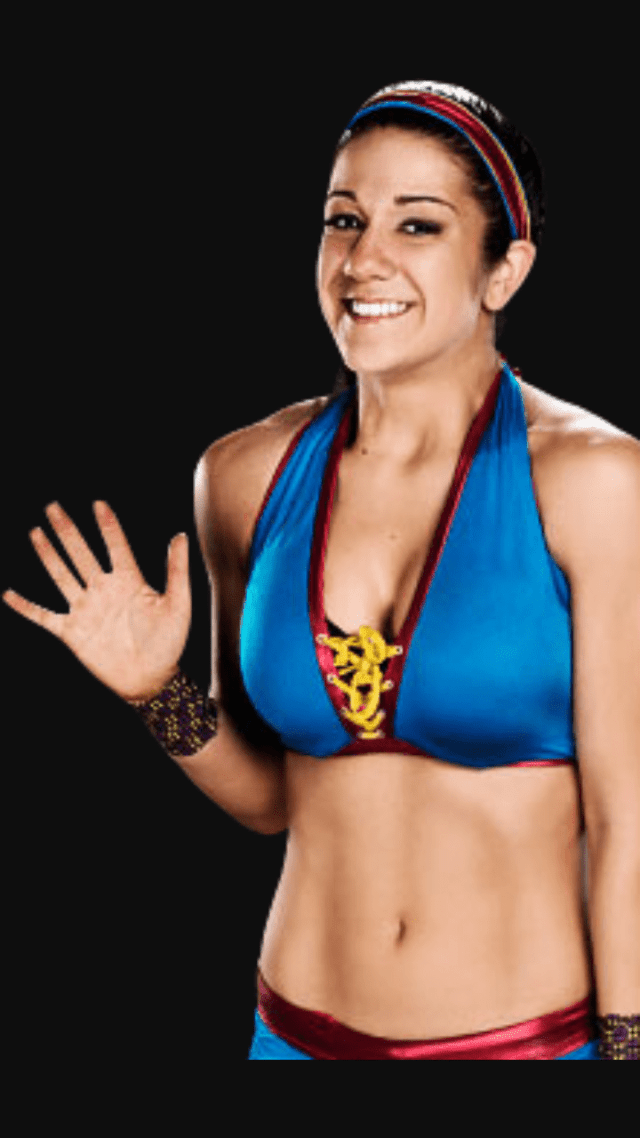 bayley sexy cleavages