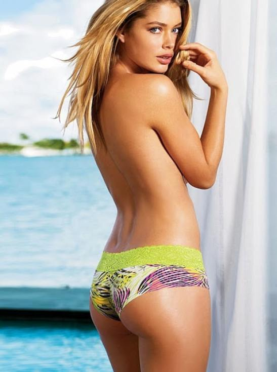 doutzen kroes back look