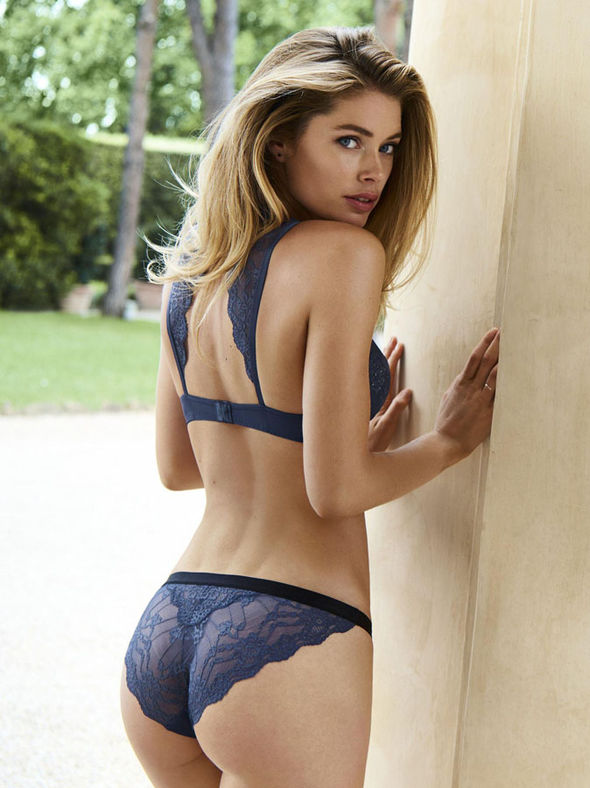 doutzen kroes hot back scene