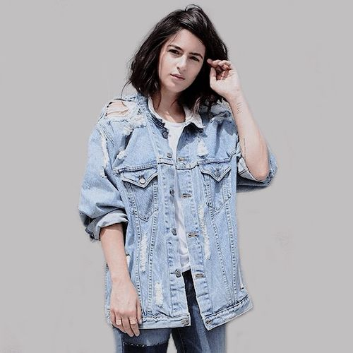 Alanna Masterson on Photoshoot