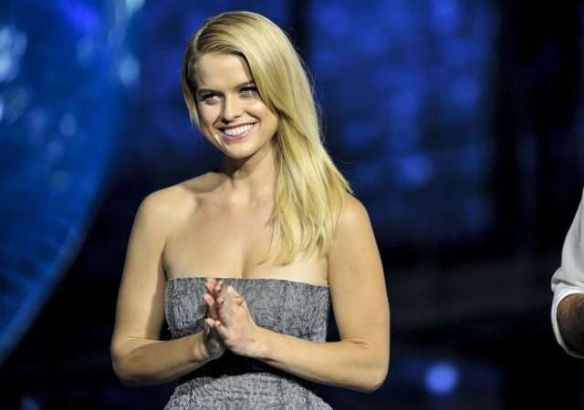 Alice Eve awesome cleavages